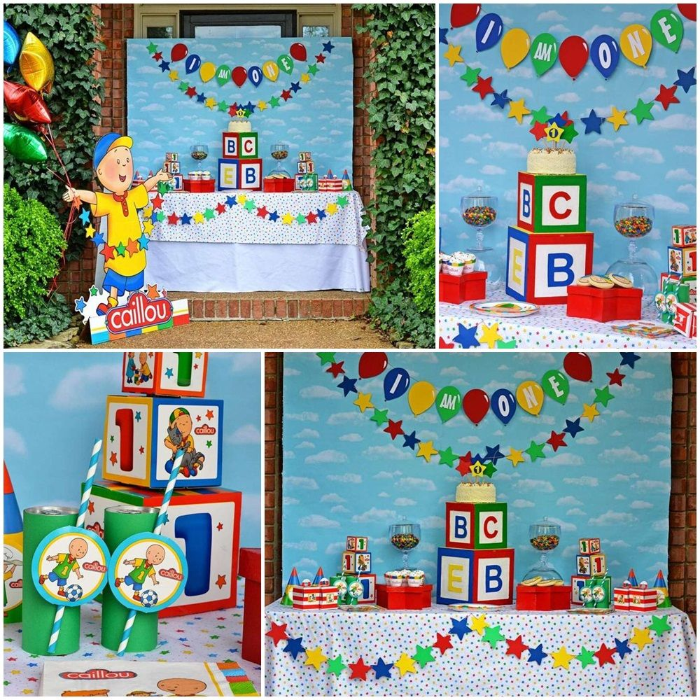 Caillou Theme Party Ideas Caillou Birthday Party Episode Caillou ...