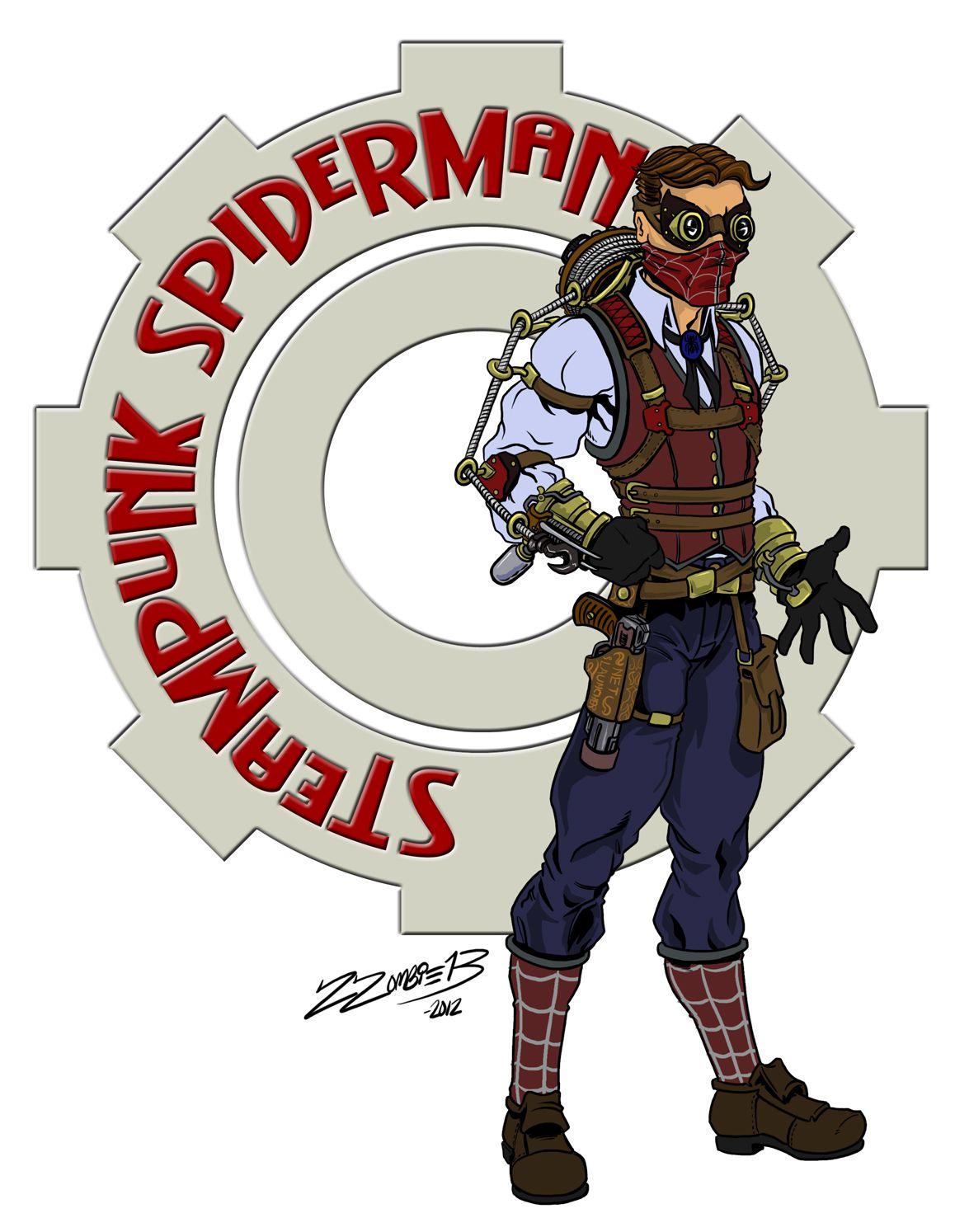 Spider-Man: Steampunk Spider-man by ZZoMBiE13