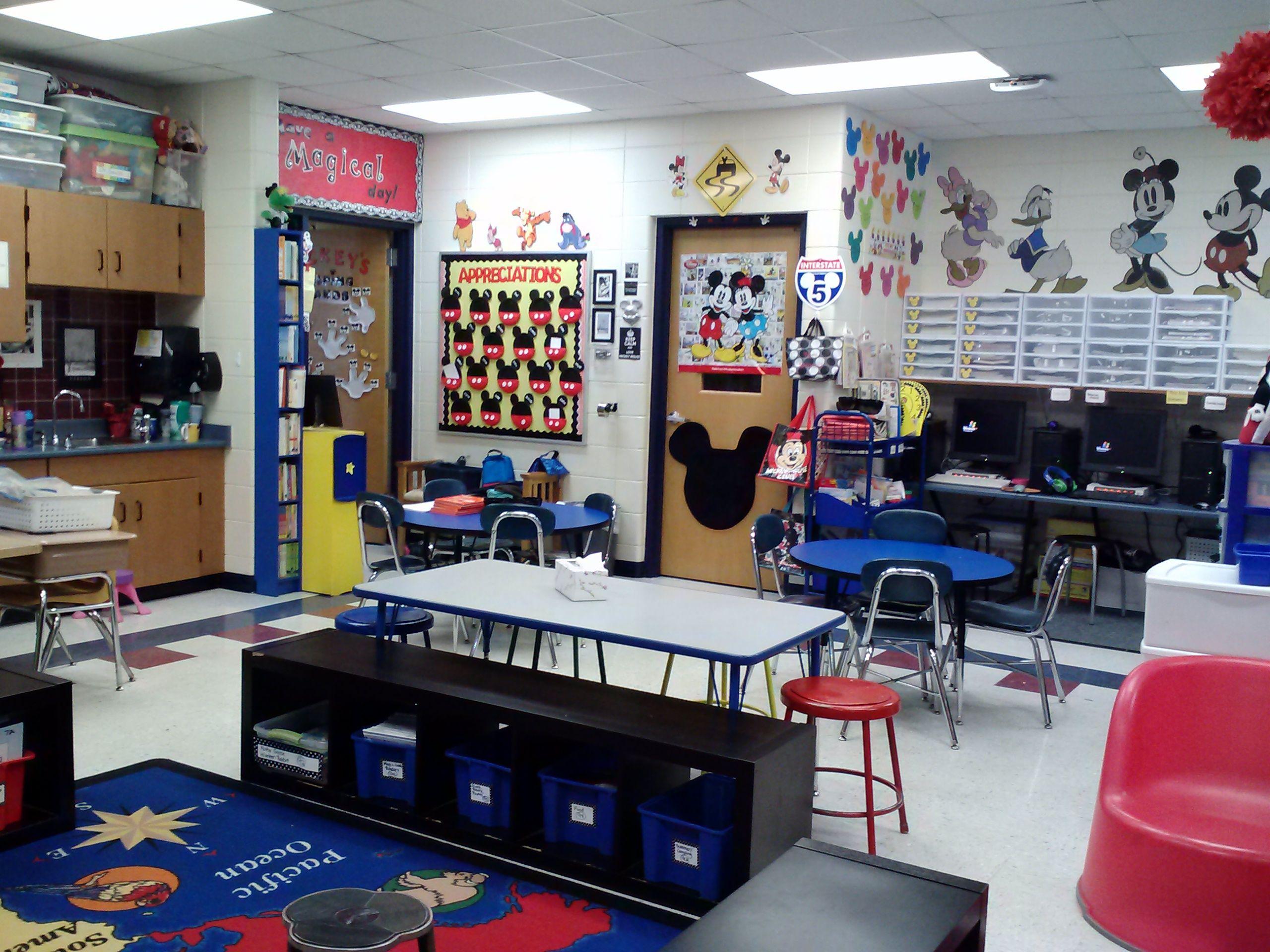 Mickey Classroom