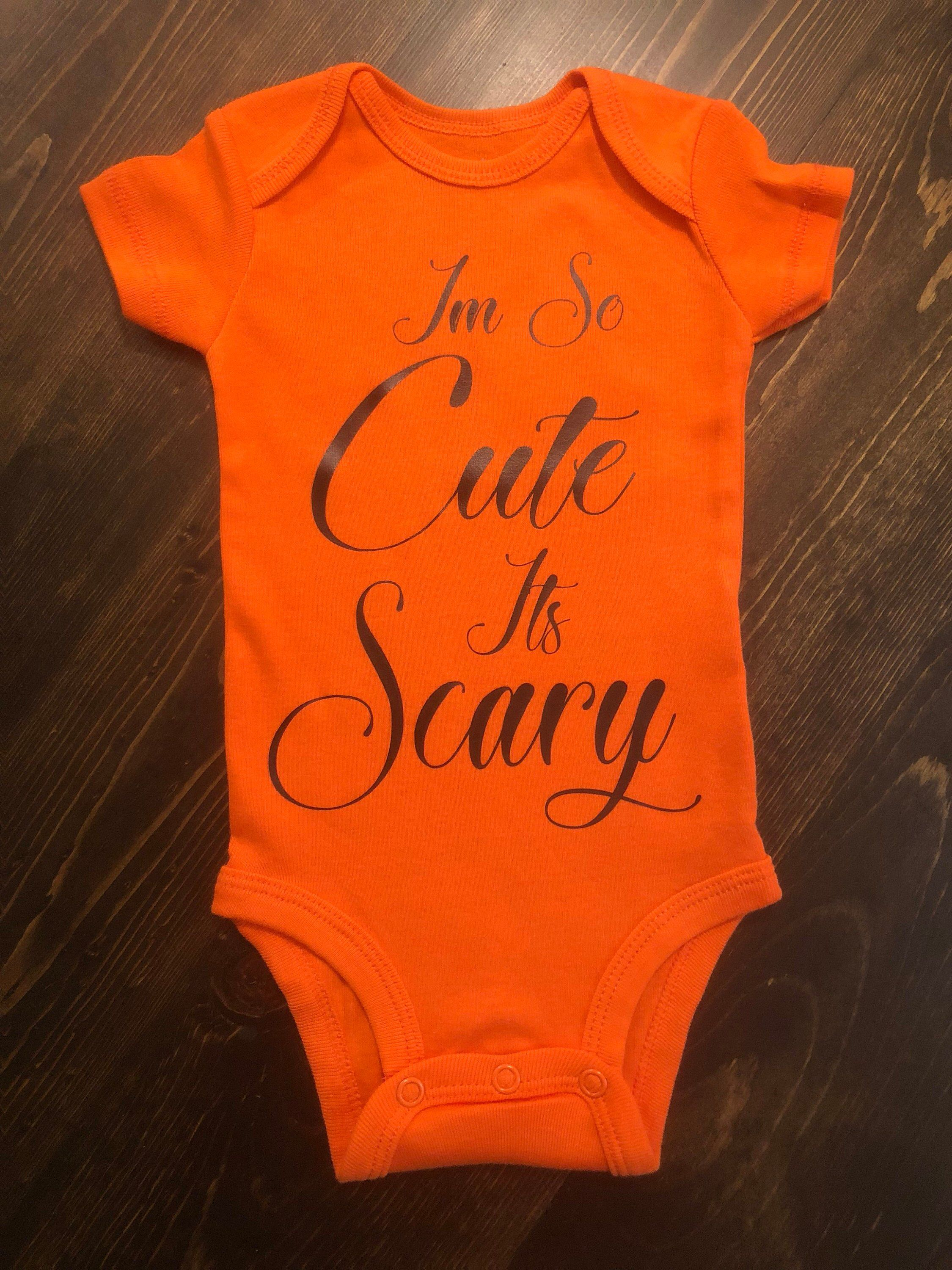 so cute its scary onesie, halloween outfit | adorable!! | pinterest