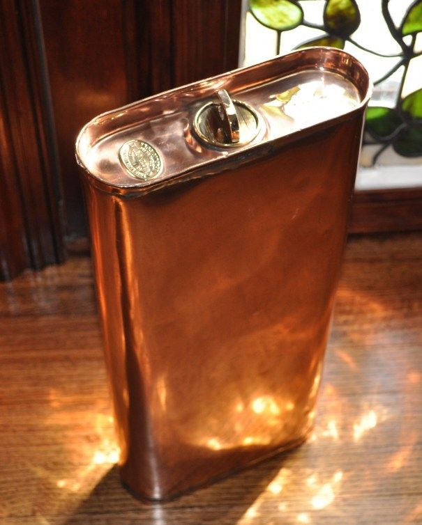 Vintage Copper Carriage Warmer