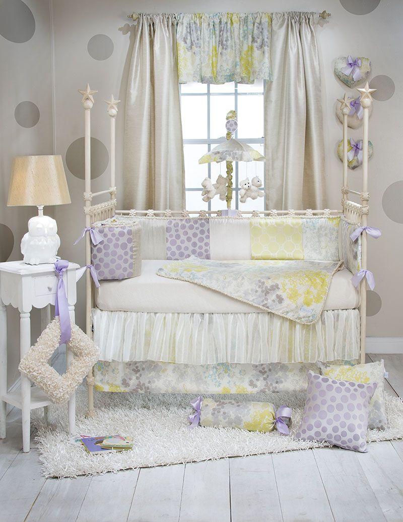Glenna Jean Boutique Phoebe 4 Piece Baby Crib Bedding Set