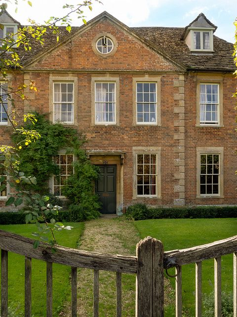 Cantax House At Lacock In Wiltshire Was Built Around 1700