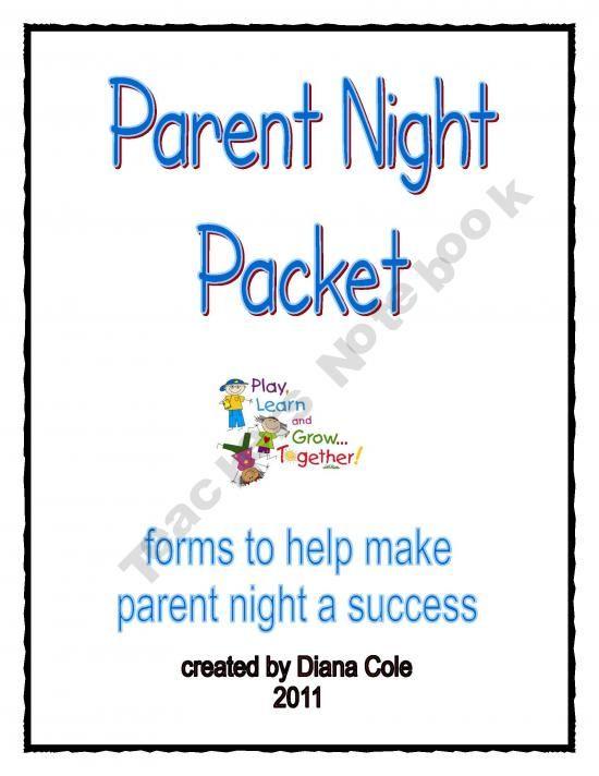 Coles Little Pups Shop Teachers Notebook Parent Night Curriculum Night Word Free