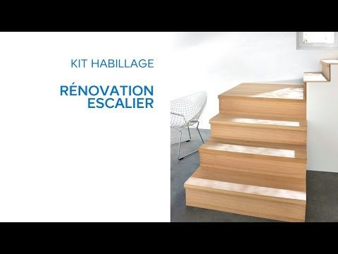kit habillage r novation escalier 694636 castorama. Black Bedroom Furniture Sets. Home Design Ideas