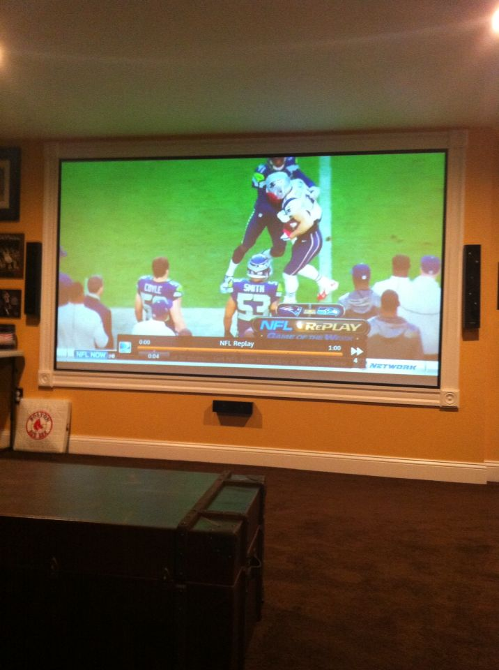 Framed Wall Projector Screen Home Theater Screens