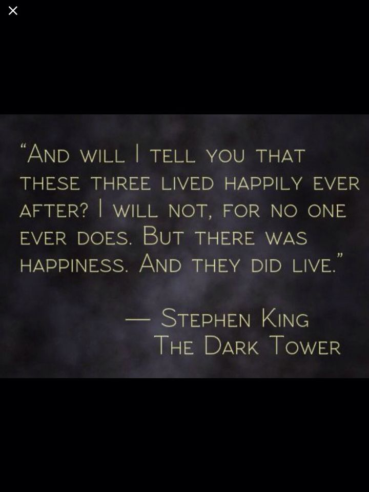 stephen king the dark tower you can quote me on that
