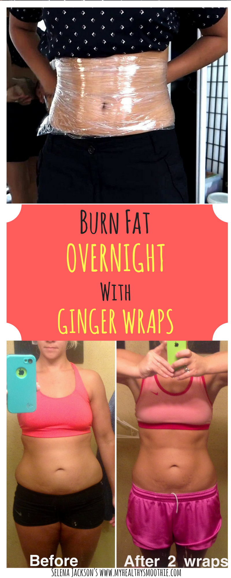 How To Make Ginger Wraps And Burn Belly Fat Overnight Feeling