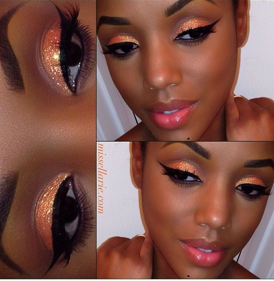 Makeup Makeup for black women, Eye makeup
