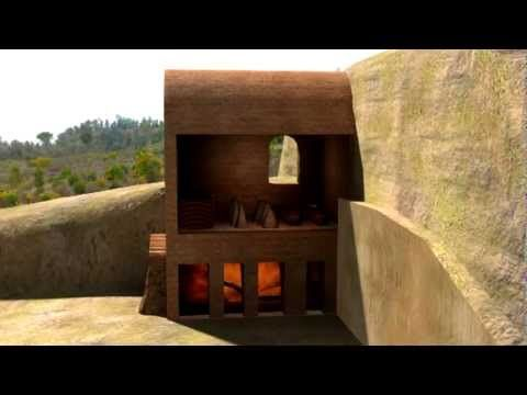 ▶ Um forno cerâmico dos séculos XV e XVI na Mata da Machada - YouTube