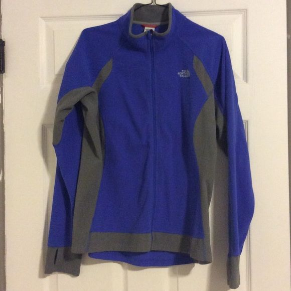 The North Face women's fleece jacket Two tone light weight fleece jacket. Good used condition The North Face Jackets & Coats
