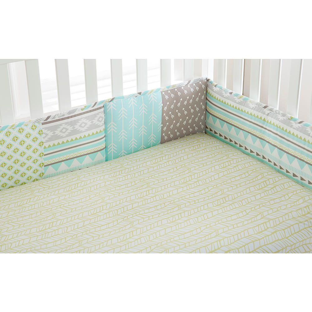Crib bumpers babies r us - Levtex Baby Little Arrow 4 Piece Bumper