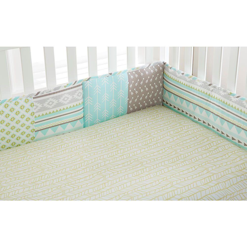 Crib bumpers babies r us - Levtex Baby Little Arrow 4 Piece Bumper