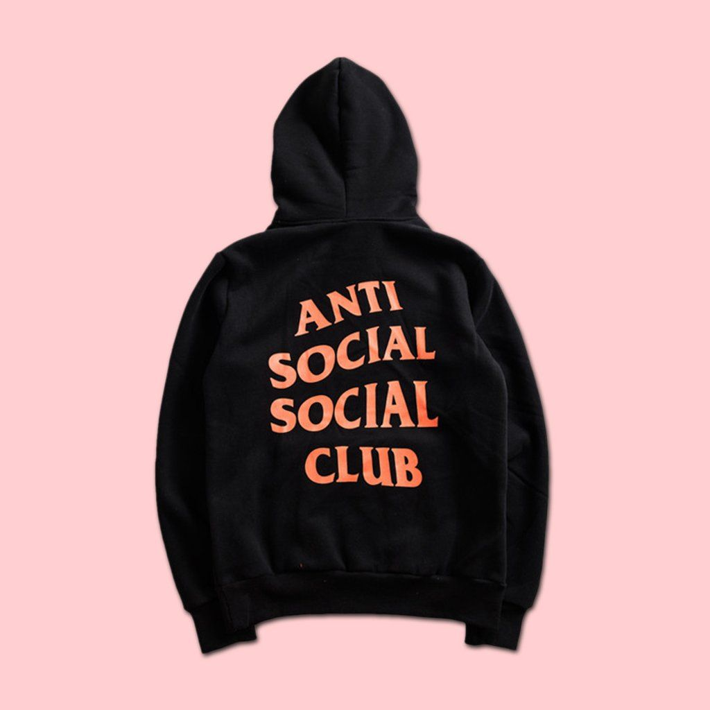 f2a6be196b65 ANTI SOCIAL SOCIAL CLUB x UNDEFEATED PARANOID HOODIE BLACK (LIMITED STOCK)   snap