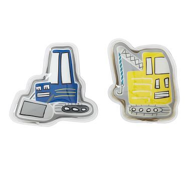 Glow In The Dark Jax Construction Soft Freezer Packs Set