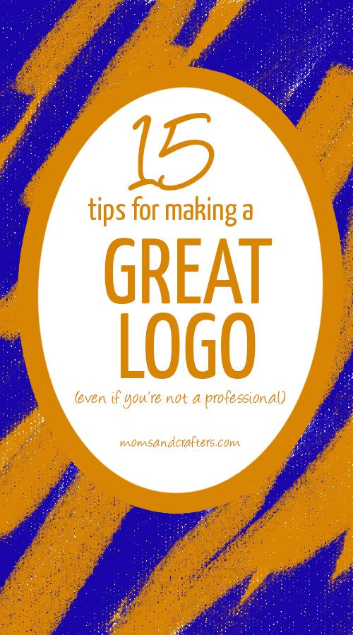 15 Tips for Making a Good Logo (even if you're not a