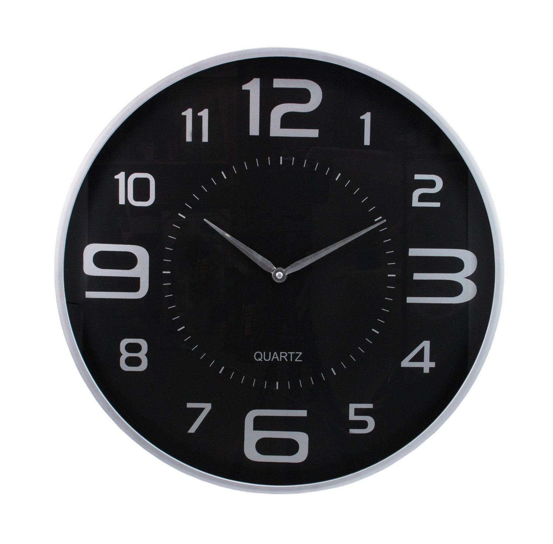 large office wall clocks. Kiera Grace Modern Wall Clock, 18-Inch, Silver $22.99 Large Office Clocks