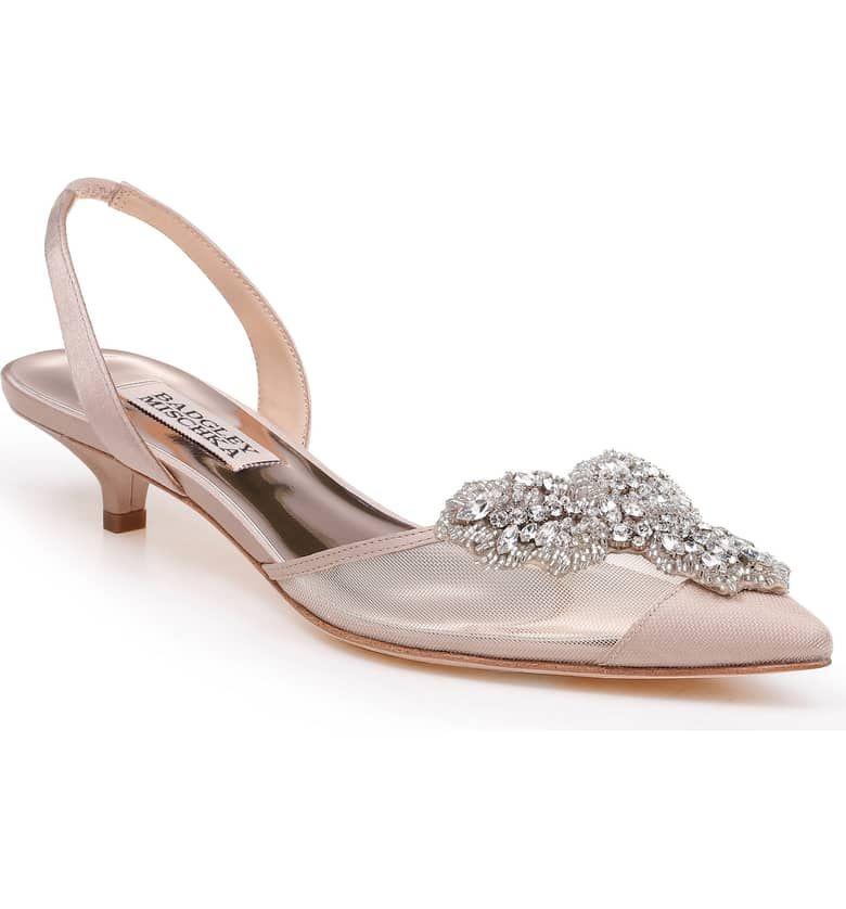 Bridal Shoes At Nordstrom: Badgley Mischka Vera Embellished Pump (Women