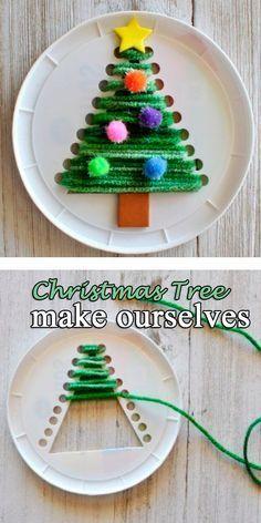 Christmas Diy Crafts For Kids Knutselen Pinterest Kerst Kerst