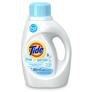 Free And Gentle He Liquid Laundry Detergent Tide Laundry