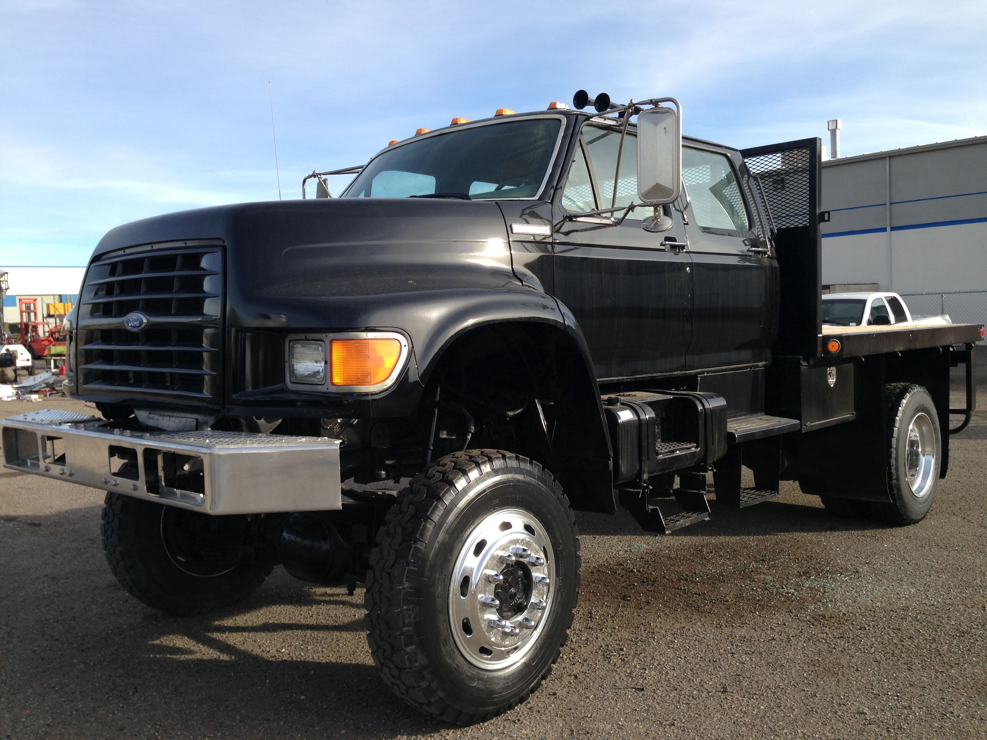 Used Ford 4x4 Trucks For Sale >> 1994 Ford F800 Reno Nv 111526768 Commercialtrucktrader