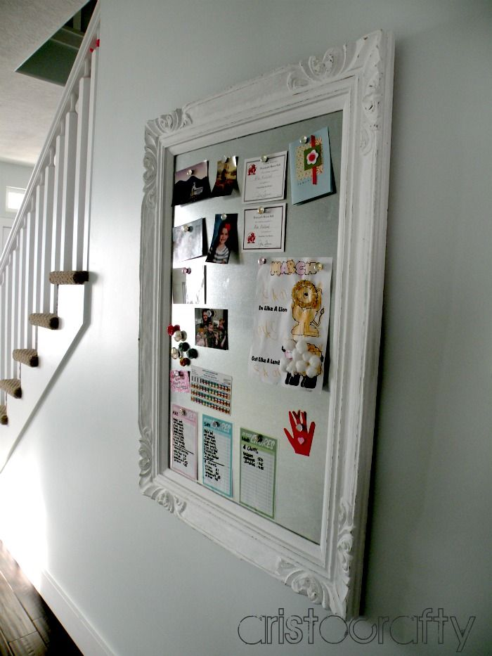 Aristocrafty: DIY Decorative Magnet Board | Room | Pinterest ...