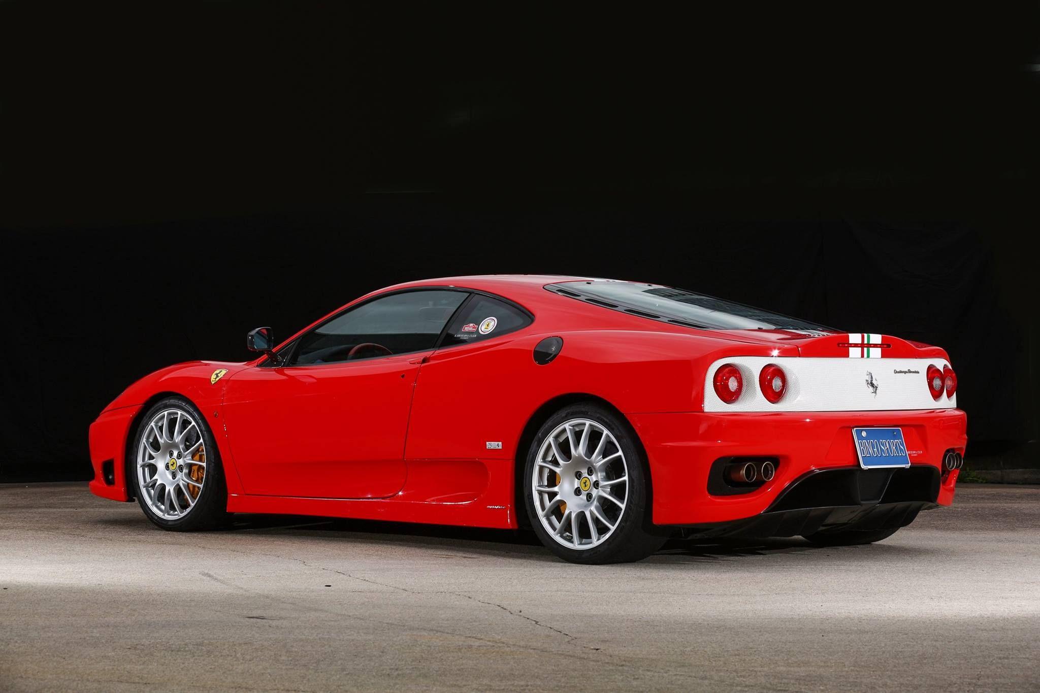 Enlarge 2004 Ferrari 360 Challenge Stradale CORNES The 25th