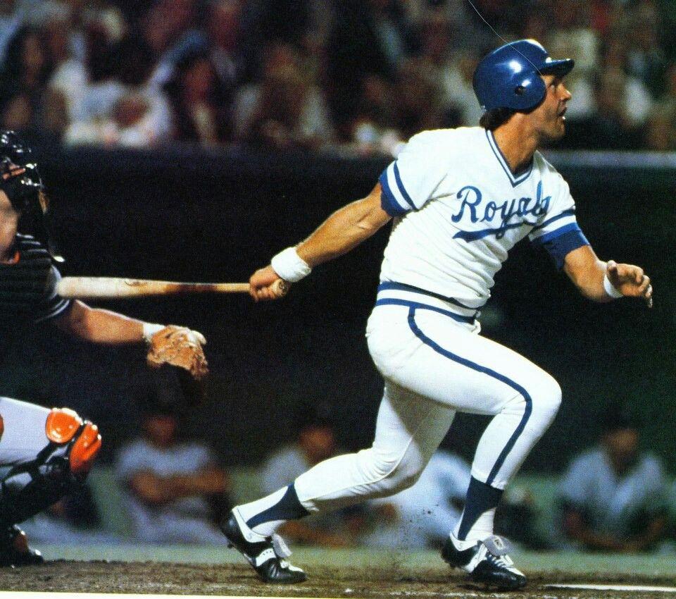 Brett brett, Baseball star, Royals baseball