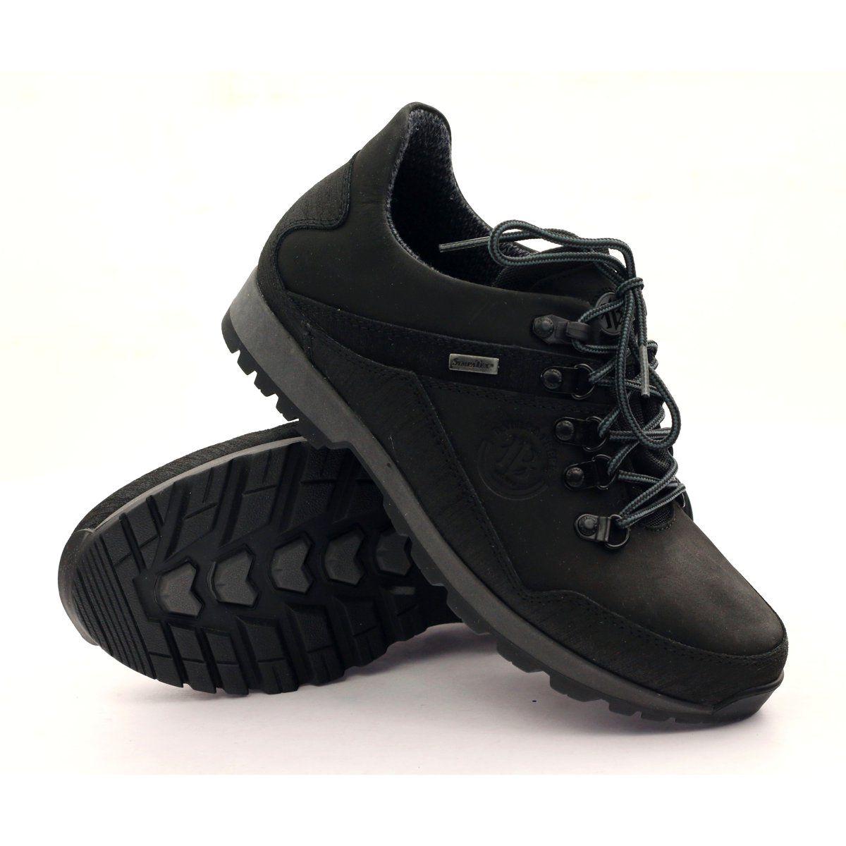 Trekking With Membrane Sympatex Badura 3141 Black Women Shoes Trekking Shoes Hiking Boots
