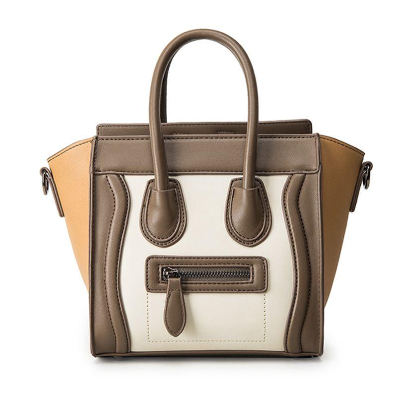a660fd6888ba  39 - Cool Bolsos Mujer 2016 Trapeze Smiley Tote Bag Luxury Brand Pu  Leather Women Handbag Shoulder Bag Famous Designer Crossbody Bags Sac - Buy  it Now!