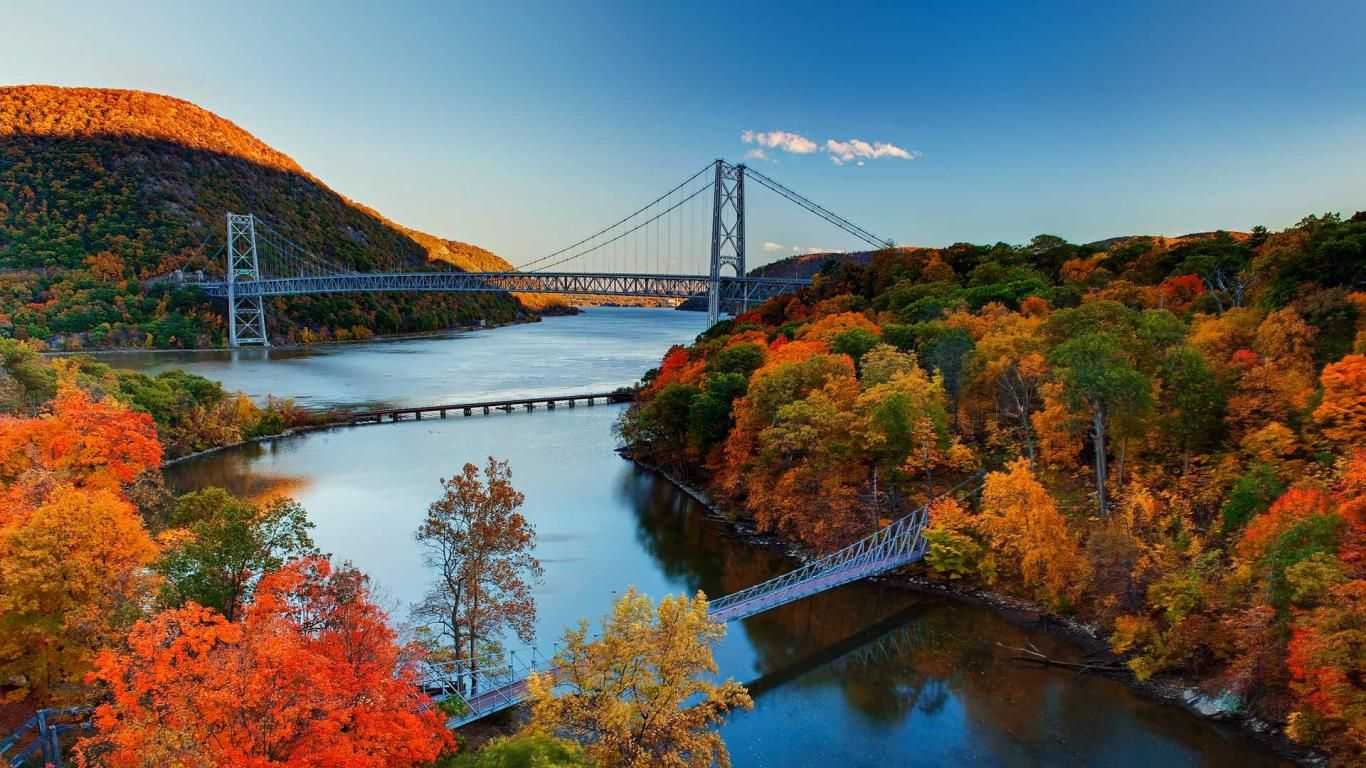 Bear Mountain Bridge In The Hudson River Valley New York C Arnab Banerjee Gallery Stock Harriman State Park State Parks Hudson River Valley