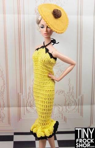 Pin de evelyn carrizo en Barbie tejidos | Pinterest | Barbie, Ropa ...