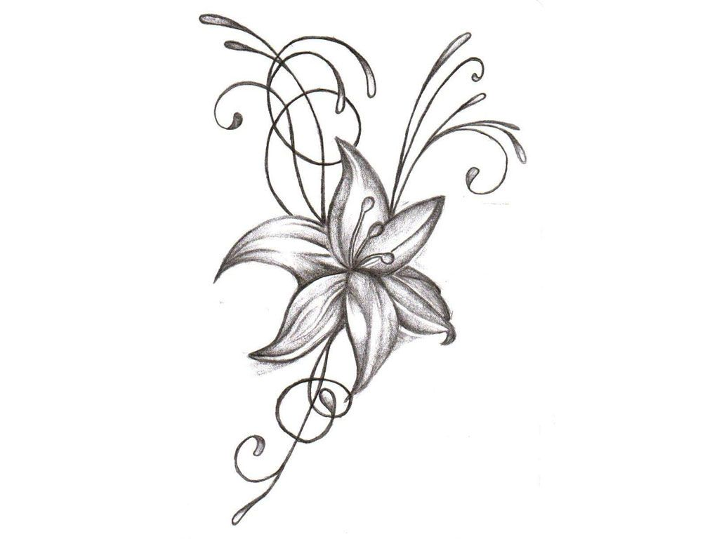 Top 50 Gorgeous Flower Tattoos To Brighten Disegno Fiori