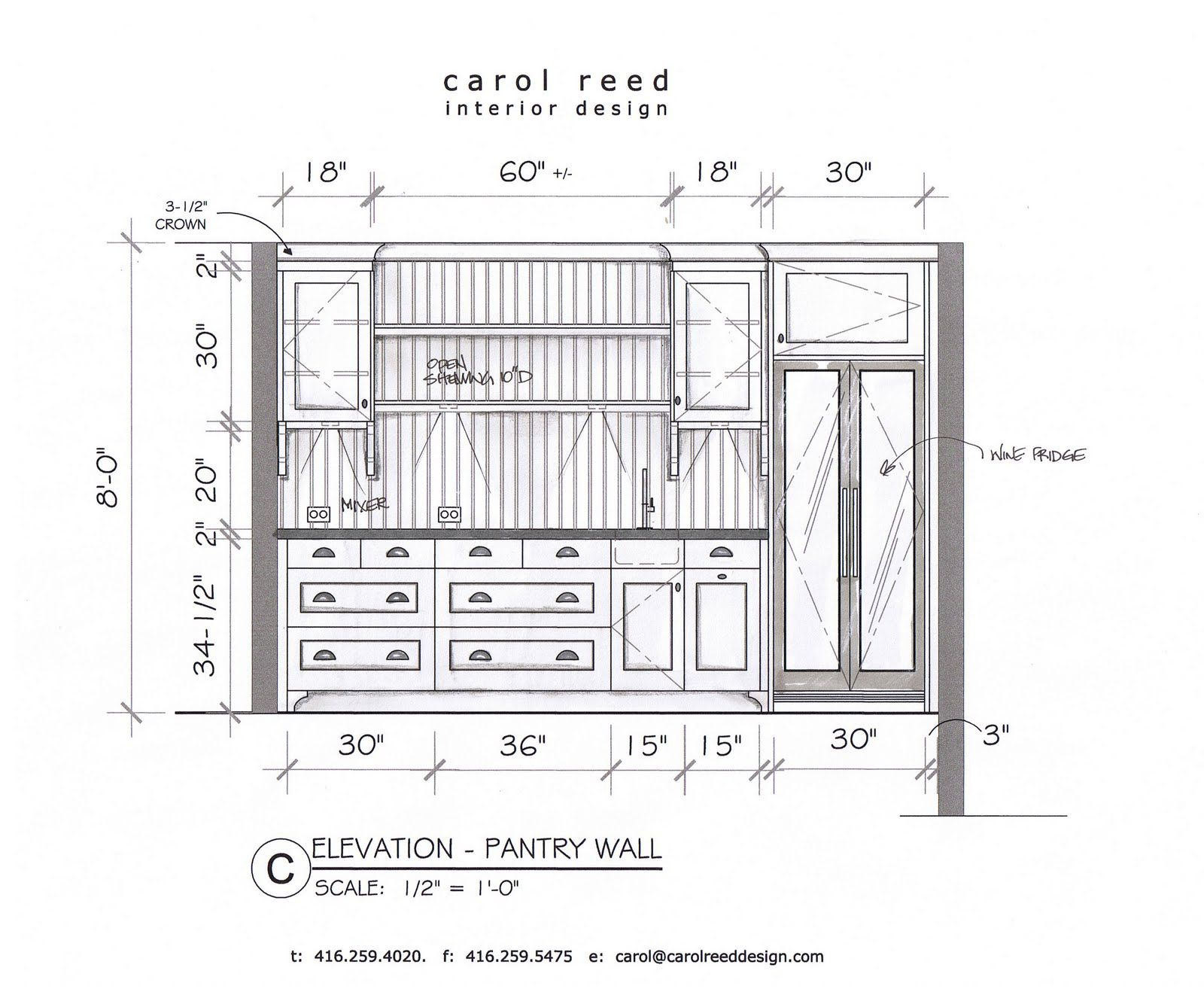 Cadkitchenplans com millwork shop drawings cabinet shop drawings - Kitchen Pantries