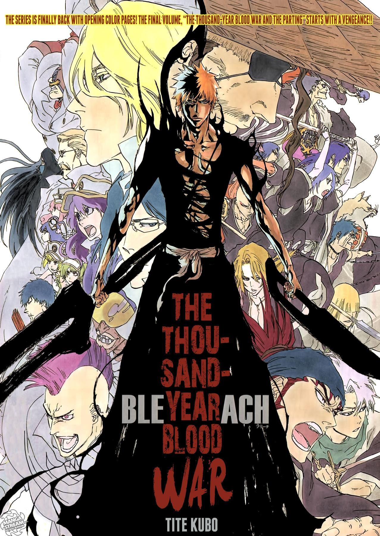 Image result for bleach one thousand years blood war
