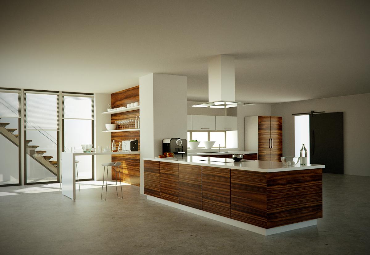 sketchup kitchen - Google Search | Kitchen design, Home ...