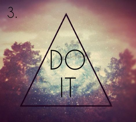hipster triangle / do it