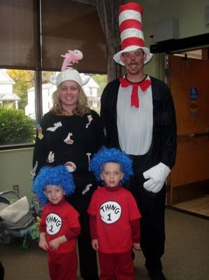 40 of the best family costumes ideas for halloween jamonkey atlanta mom blogger - Cat In The Hat Halloween Costume Ideas