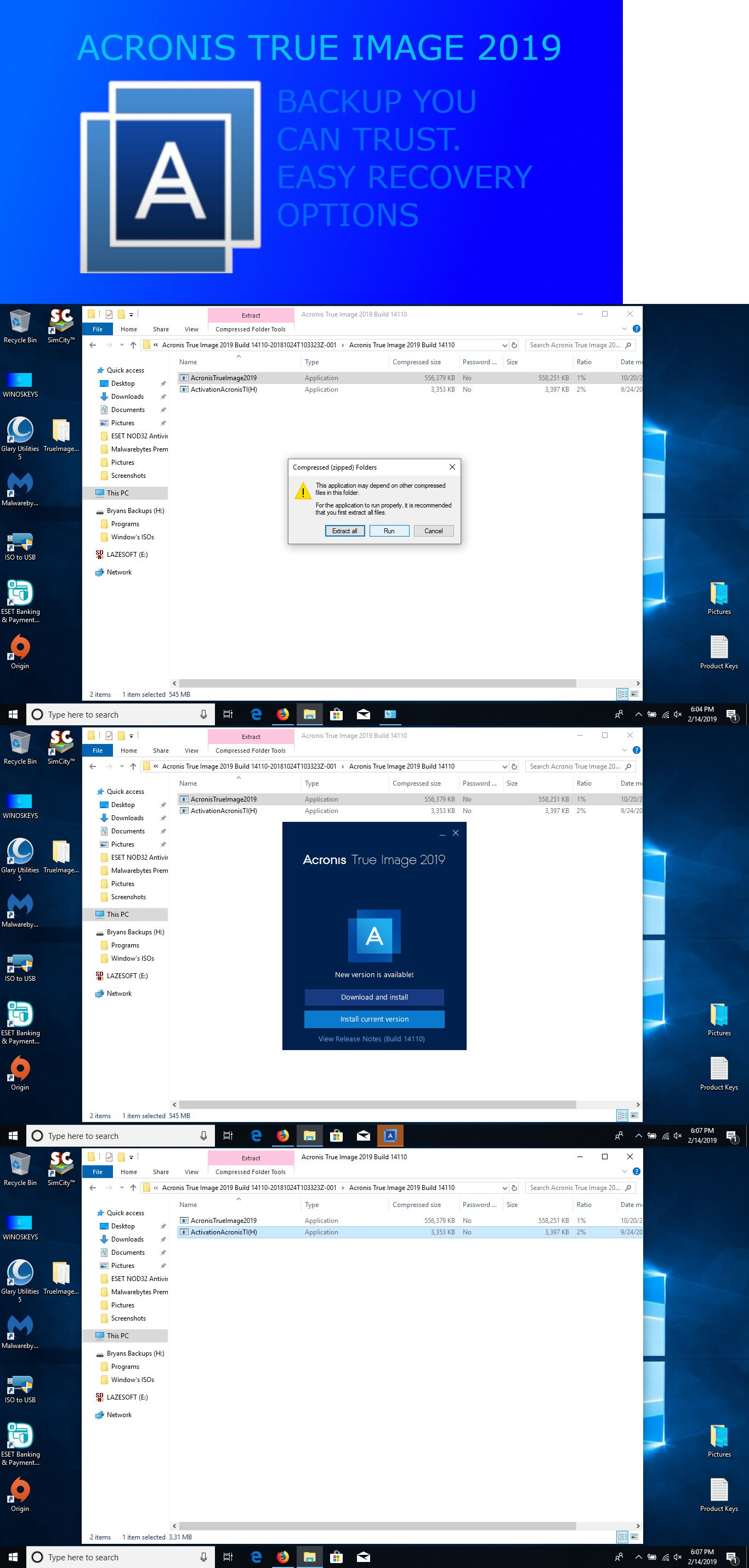 Software 40134 Acronis True Image 2019 Includes Activator Read Item Details Buy It Now Only 10 On Ebay Acronis True Image Computers For Sale Image