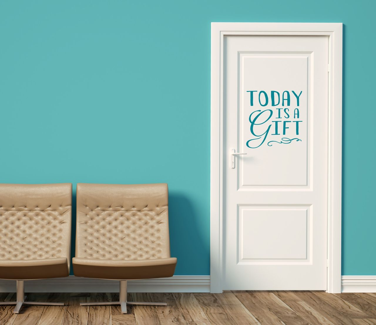 Today is a Gift Inspirational Wall Decal Quote for the Home - Wall Decor Plus More