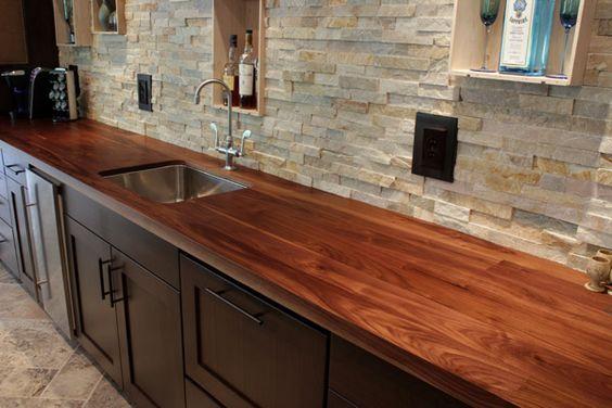20 Incredible Wooden Kitchen Countertops Wooden Countertops