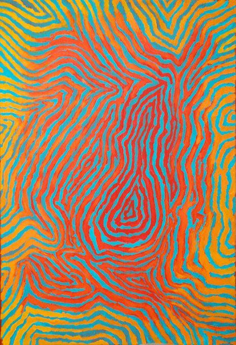 oeuvre  u0026quot kintore u0026quot  de l u0026 39 artiste aborig u00e8ne david mudgedell   artaborigene  contemporain  australie