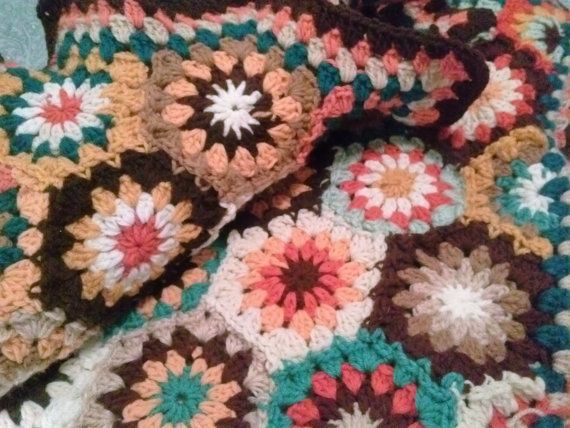 Delightful Hexagons,Crochet Hexagon Afghan,Crochet Hexagon Blanket ...