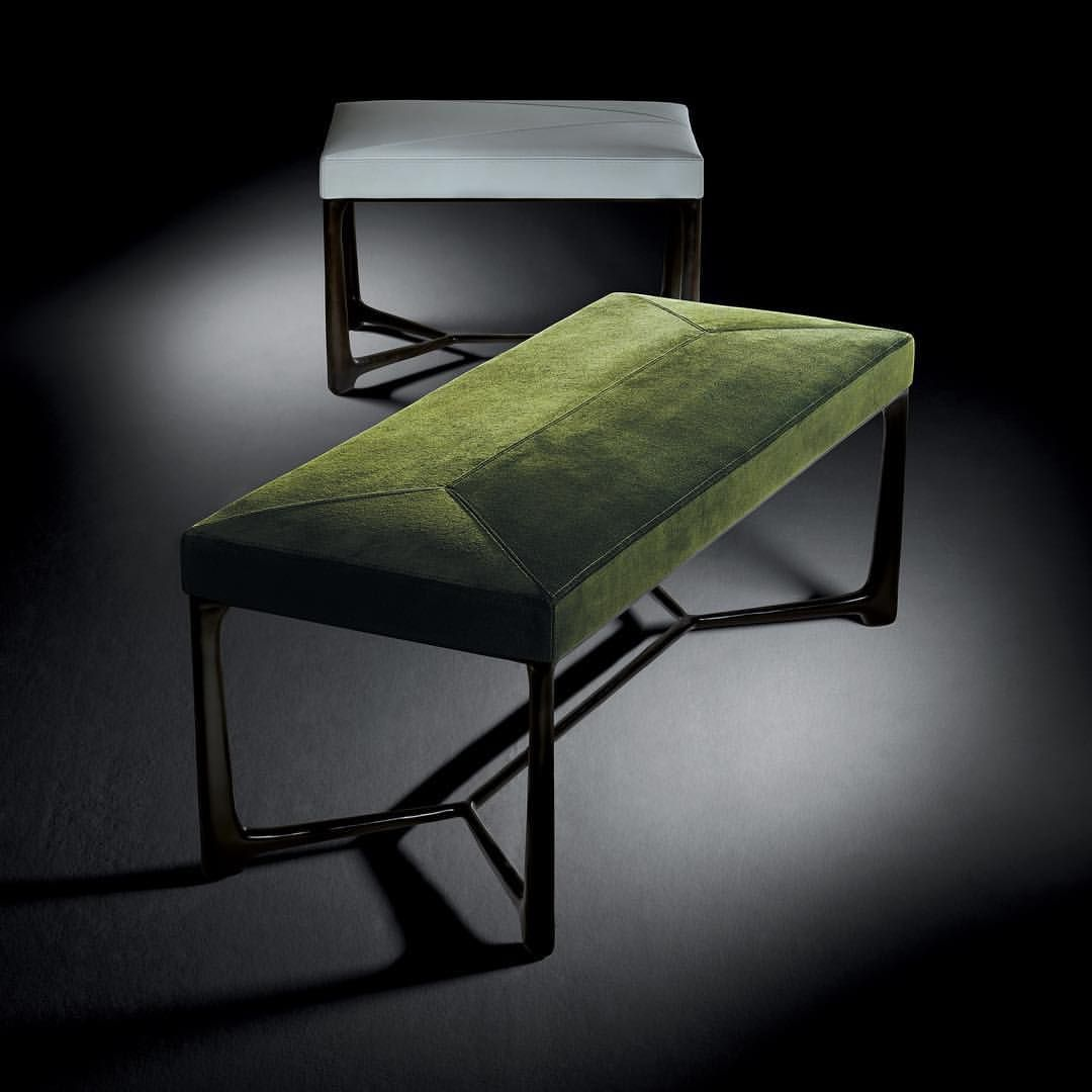 Holly hunt design hollyhuntdesign xy benches are great accents to any bedroom