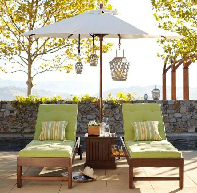 Terrassen » Liegestuhl im Garten – 55 Ideen für Gestaltung vom ...