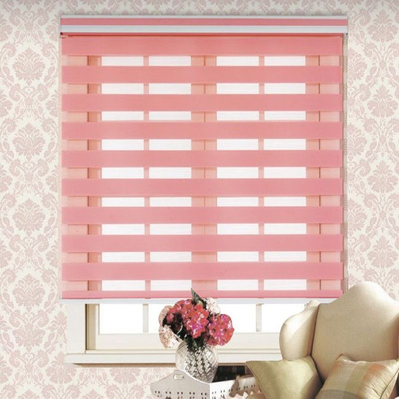 quality sell shipping fabric hot window in double shades for strawlook size curtains blinds high customized room from office free blackout roller living item zebra shade polyester made custom