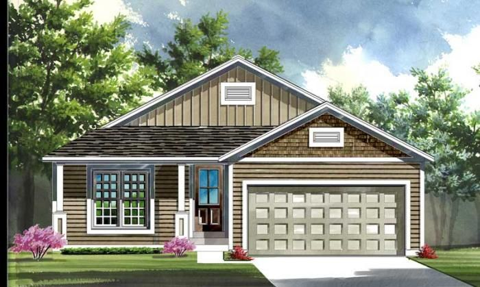 The Covington Elevation 2 | Consort Homes