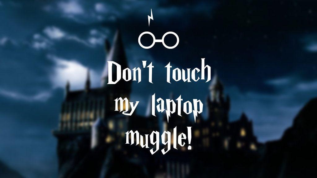 Harry Potter Laptop Wallpaper Muggle By Nikital On Deviantart Desktop Wallpaper Harry Potter Laptop Wallpaper Laptop Wallpaper Quotes