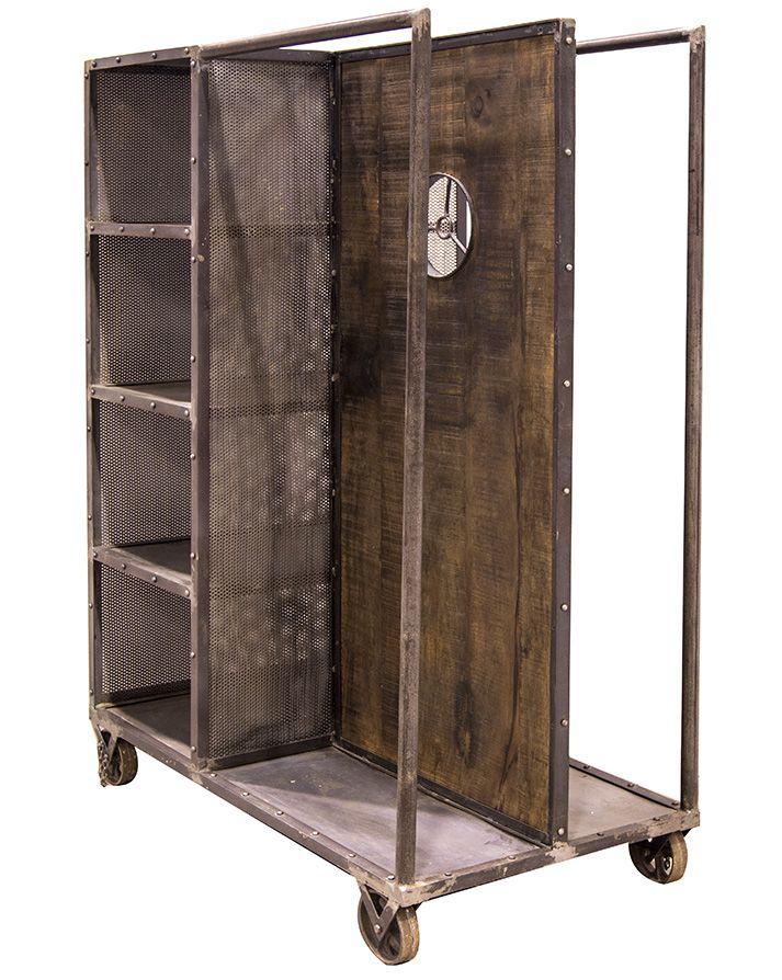 Fotos muebles vintage industrial para tiendas de ropa for Muebles vintage outlet