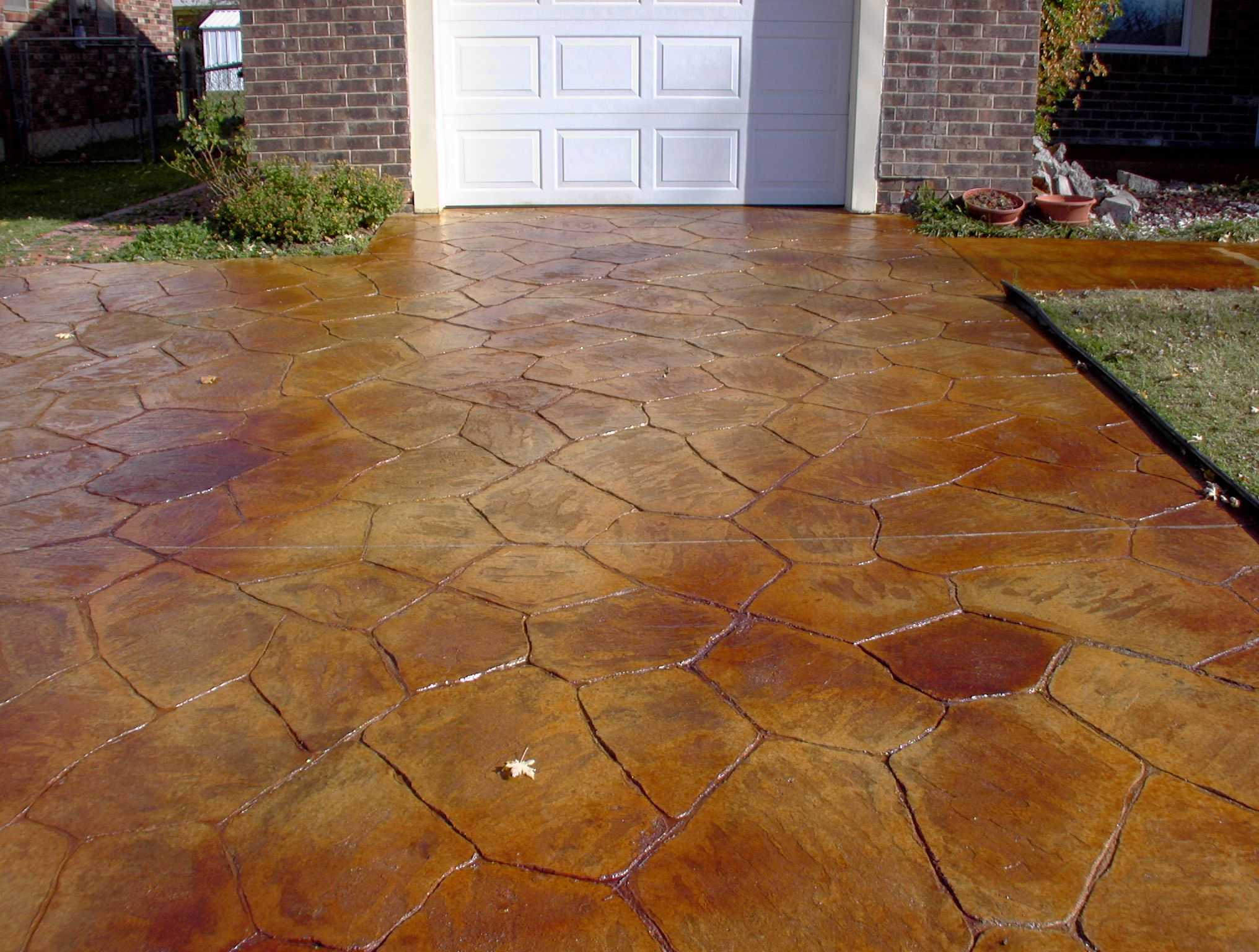Do It Yourself Concrete : Stained concrete acid pictures kennel
